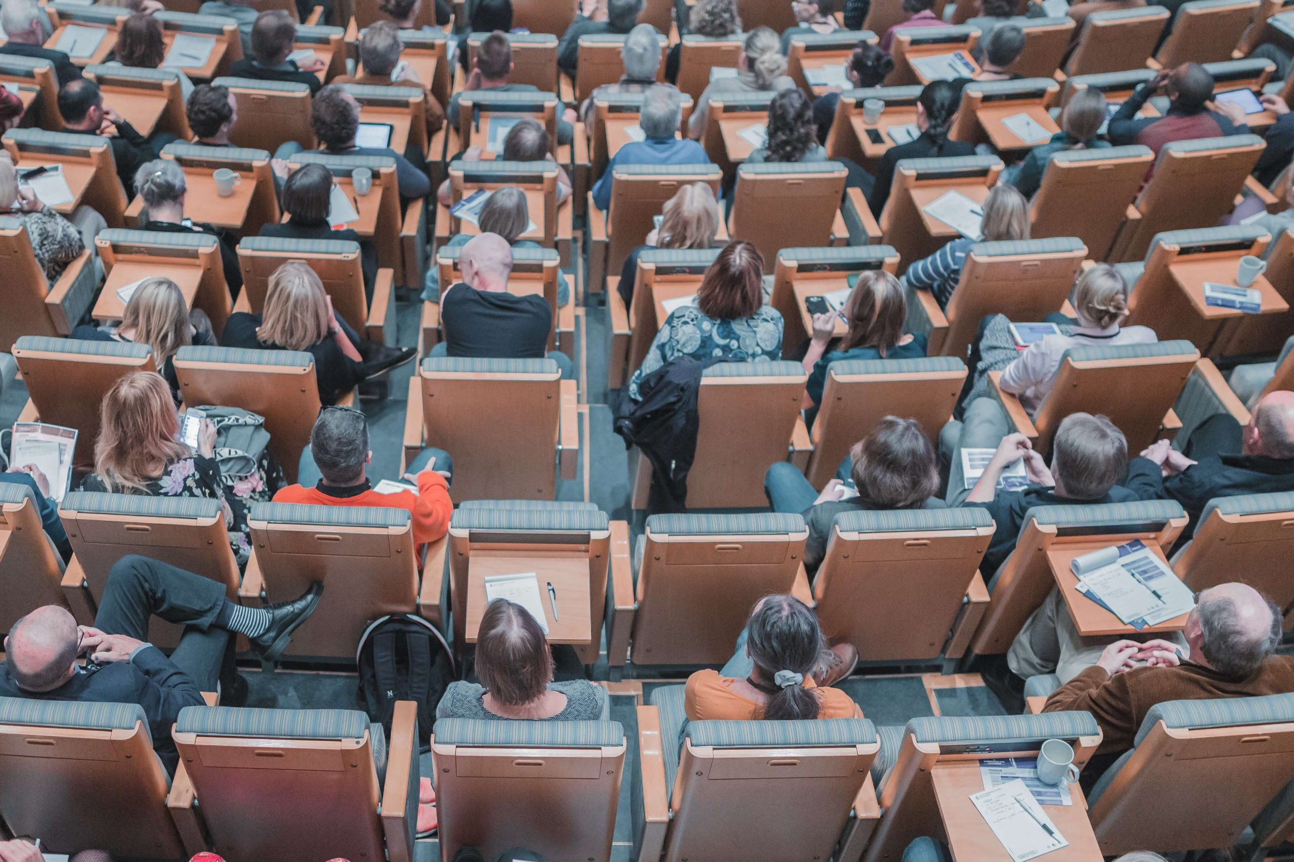 essential mandatory training lecture hall